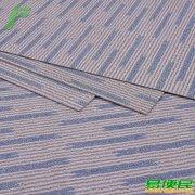 企业展厅幼儿园活动教室仿地毯PVC地板 酒店宾馆公寓条纹石塑